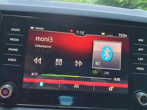 Sprachnachricht im Auto hören – statt Musik