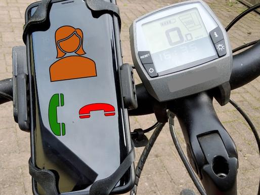 Freisprechanlage: Telefonieren auf dem Fahrrad