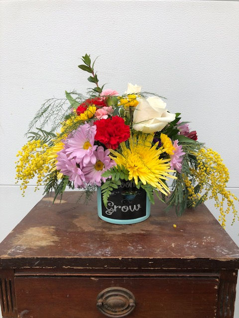 Spring Container Floral Class