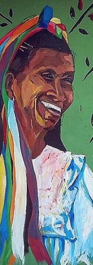 QUECHUA LAMISTA  mural san roque de cumbaza, peru