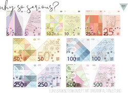 Euro Banknoten Konzept