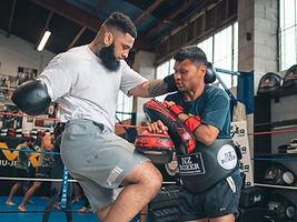 Auckland MMA Dana & Epe Kaihau - K1 Kick