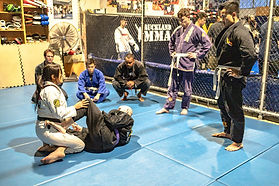 Auckland MMA Coaches Van Robertson Black
