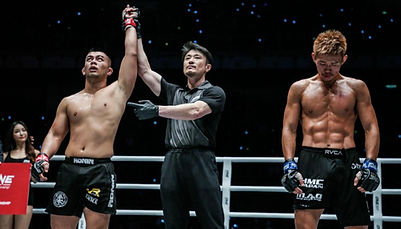 Auckland MMA Ev Ting One Championship UF
