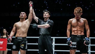 Auckland MMA Ev Ting One Championship UF