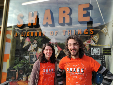 Interview- Sam Attard tells the story of SHARE and why sharing strengthens community.