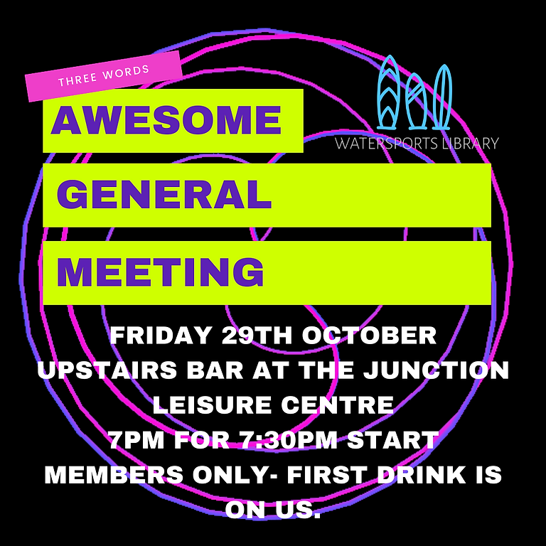 AWESOME GENERAL MEETING