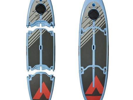 The quest for an environmentally friendly paddleboard.