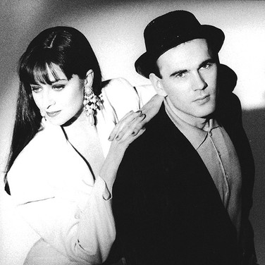 Basia and Danny, 1990
