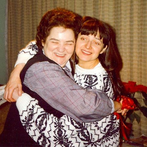With my Mum, Kazia