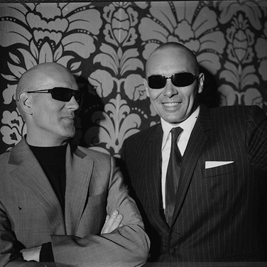 Cool in sunglasses
