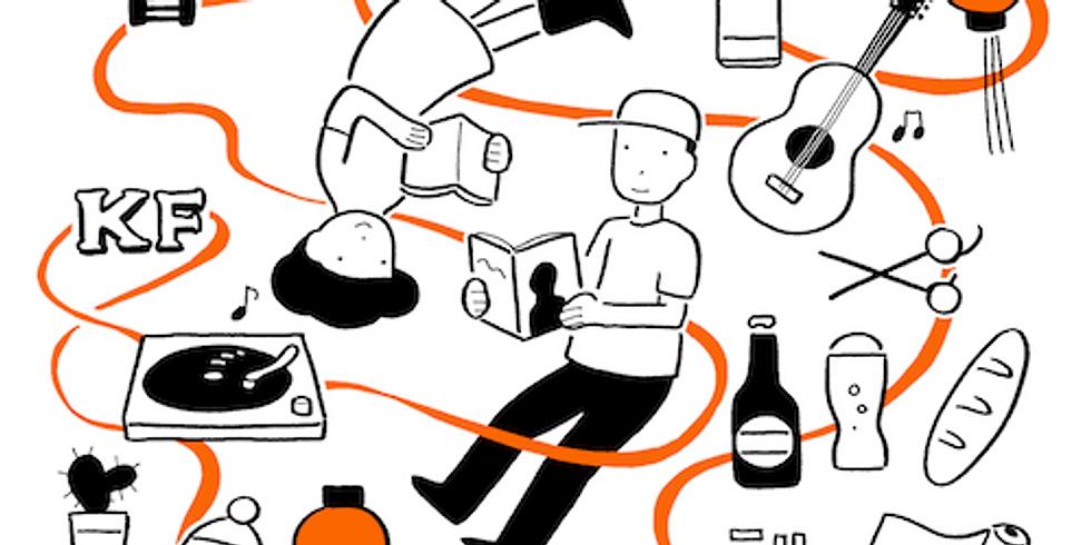 KITAKAGAYA FLEA 2019 SPRING & ASIA BOOK MARKET 2019.5.25(sat)12:00-20:0005.26(sun)11:00-18:00 名村造船所跡地/クリエイティブセンター大阪(CCO)