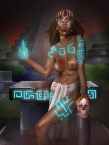 Aztect Priestess