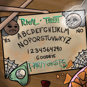 """New Album: """"Party Ghosts"""" by Rival Threat"""