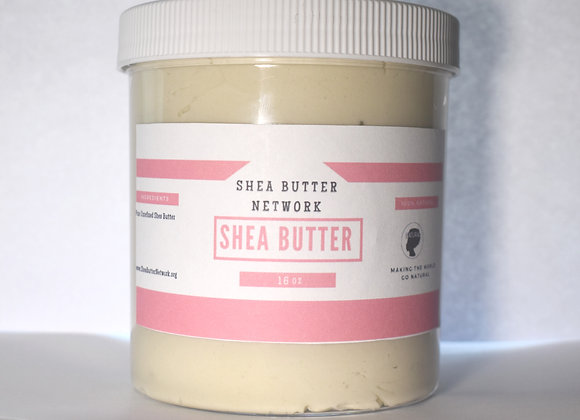 Pure Unrefined Ivory Shea Butter