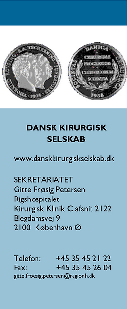 Dansk Kirurgisk Selskabs Generalforsamling oplysninger