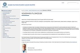 DMCG hjemmeside