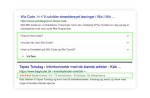 Rich Snippets i Wix