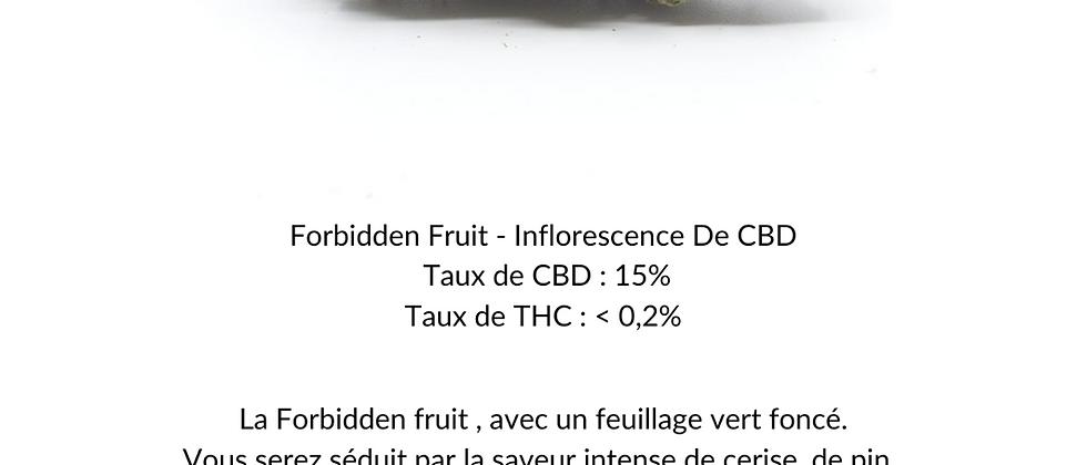 Forbidden Fruit - Inflorescence de CBD (INDOOR)