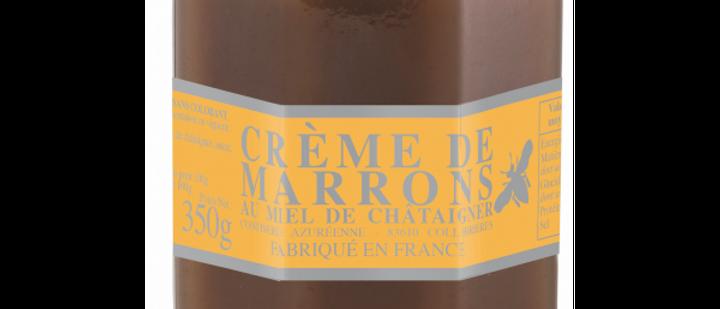 Crème de marrons au miel de châtaignier 350g