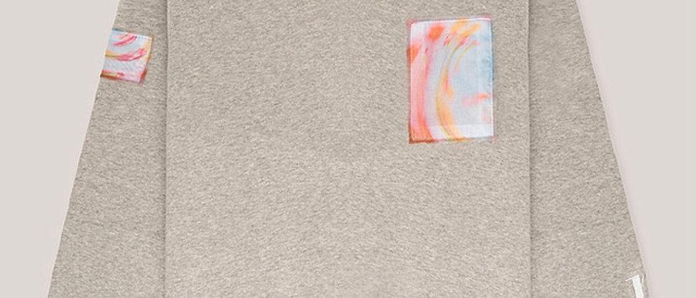 Sweat-shirt gris - NICHOLAS PARIS