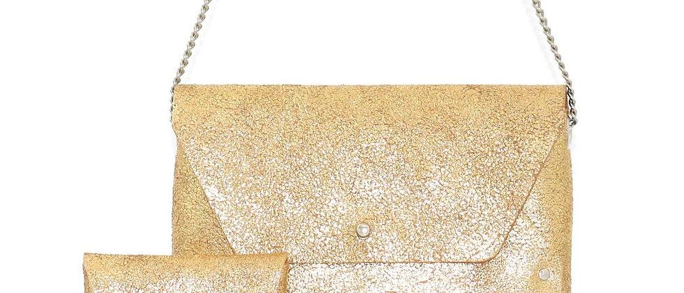 Sac Pliage doré (4 pièces)