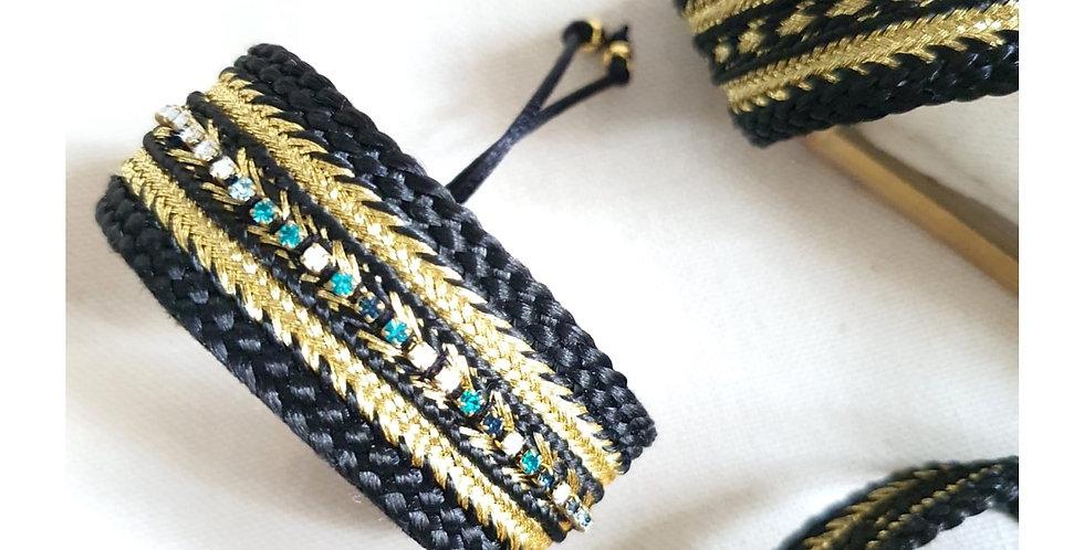 Bracelet en passementerie 22mm