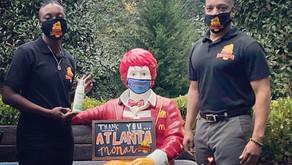 Monarchs partner with community partners Atlanta Ronald McDonald House