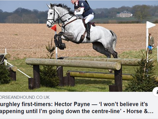 'I won't believe it's happening until I'm going down the centre-line'