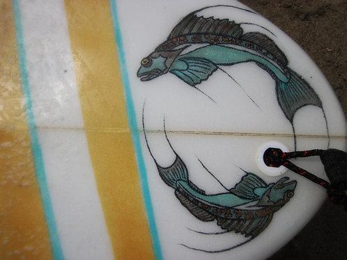 Custom Surfboard Fish Designs