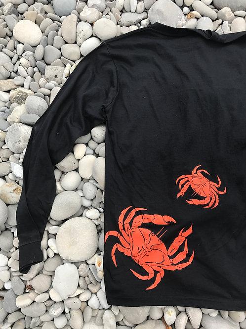 Unisex Dungeness Crab Long-sleeve Tee