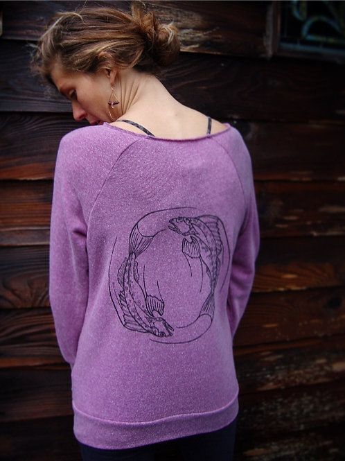 Circling Lingcods ECO Pullover Fleece