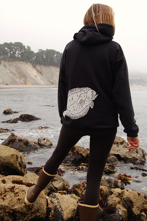 Heavy Weight Hoody: California Halibut Pullover Hoody