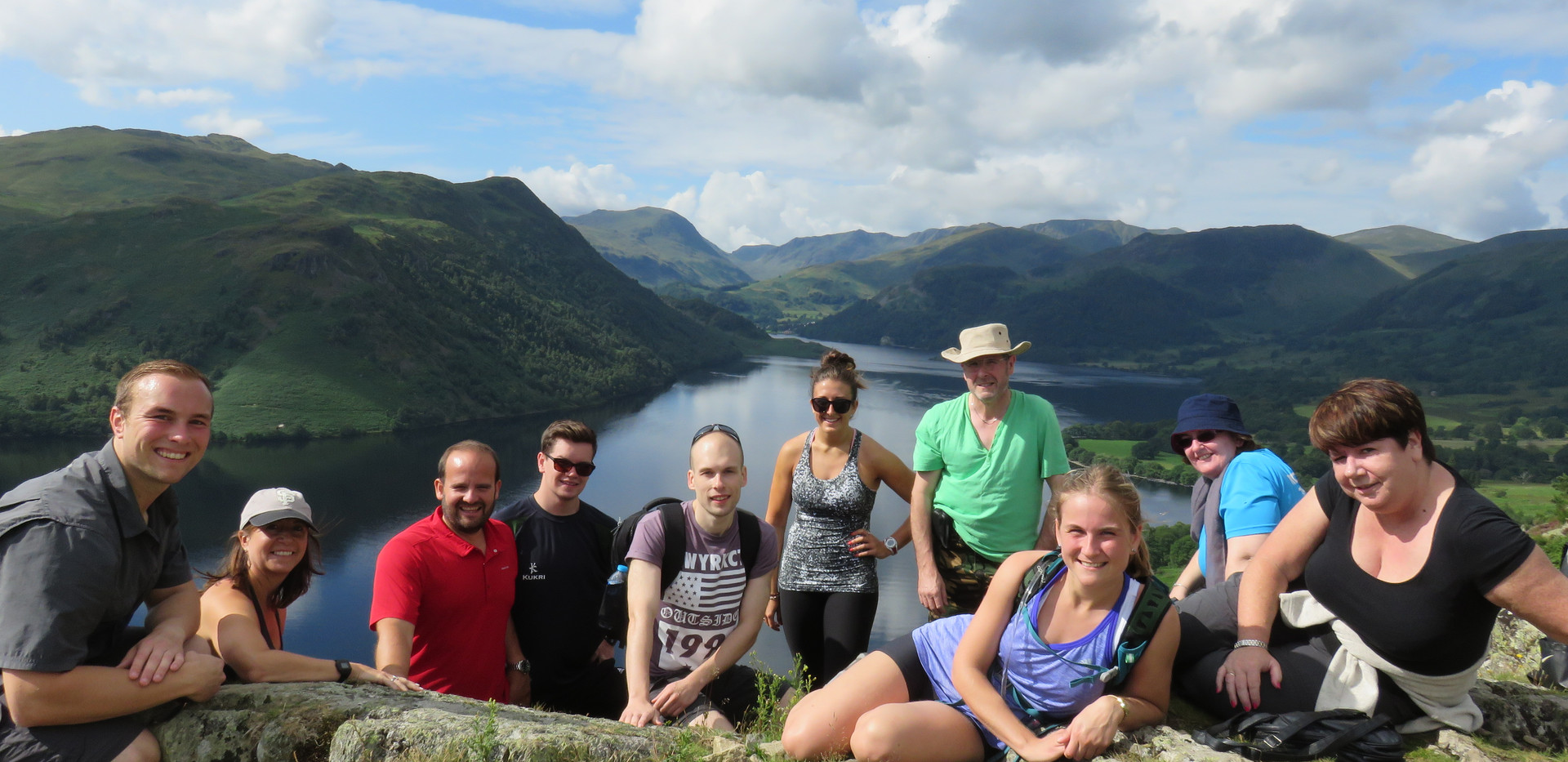 Lake Distrcit 2015 Hiking Event | Personal Training Customers | Client | Fitness | Mountains | Gym | Active | Exercise | Trainer