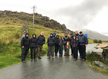 Client's Snowdonia Fitness Trip, 2019