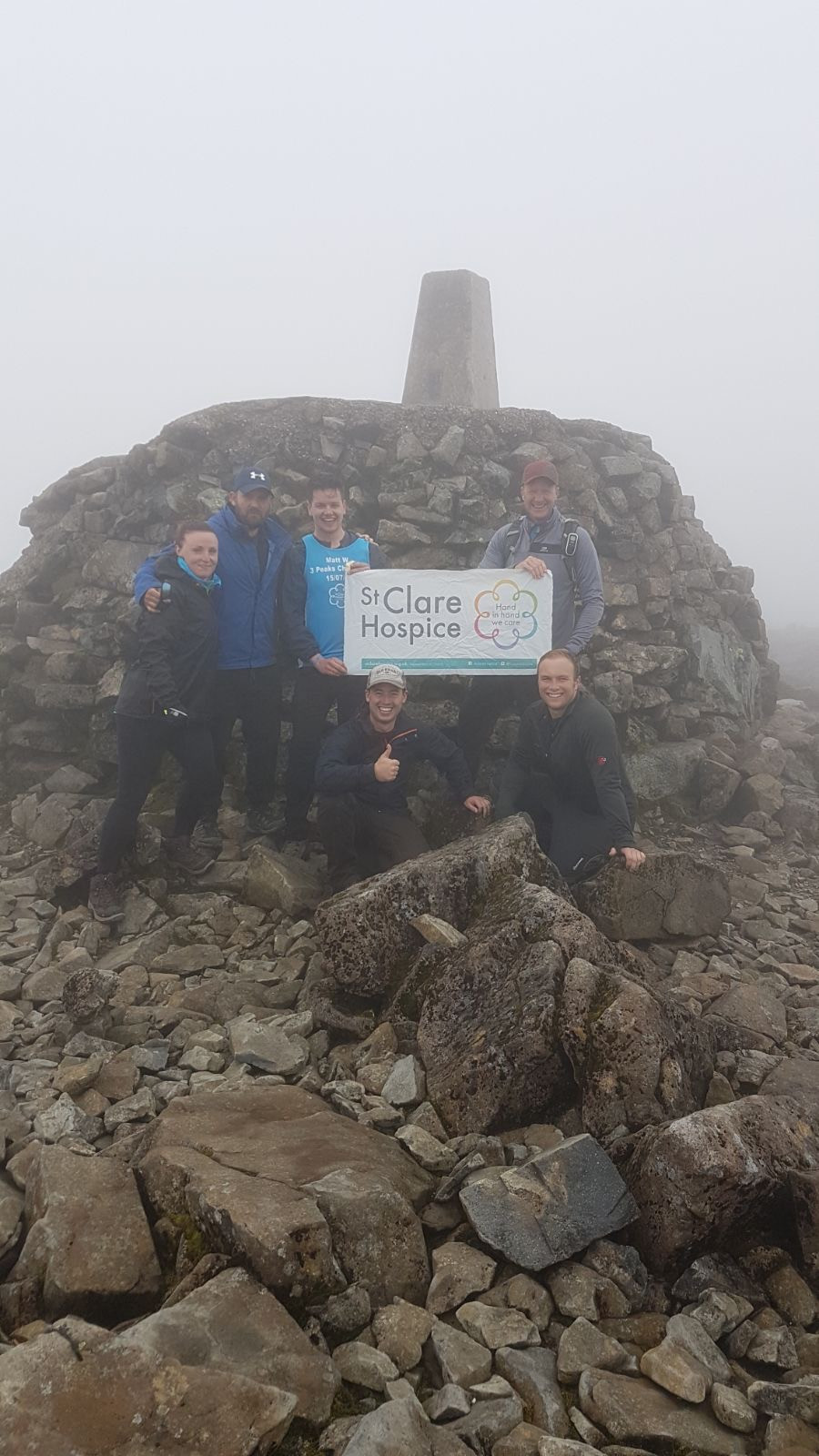 & To The Summit of Ben Nevis within the 3 hour mark!
