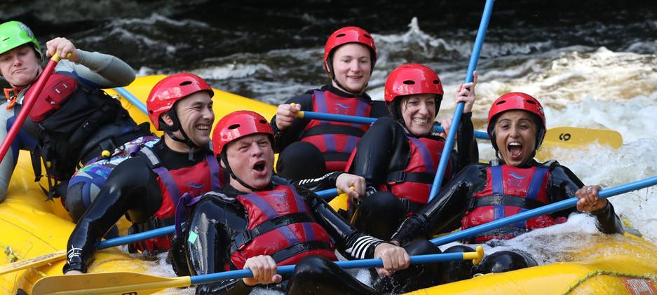 Clients having fun Whitewater Rafting in Wales, 2019   Snowdonia   Fitness   Fun   Exercise   PT   Training   Friendly   Group   Sawbridgeworth   Harlow   Bishops Stortford   Essex   Hertfordshire
