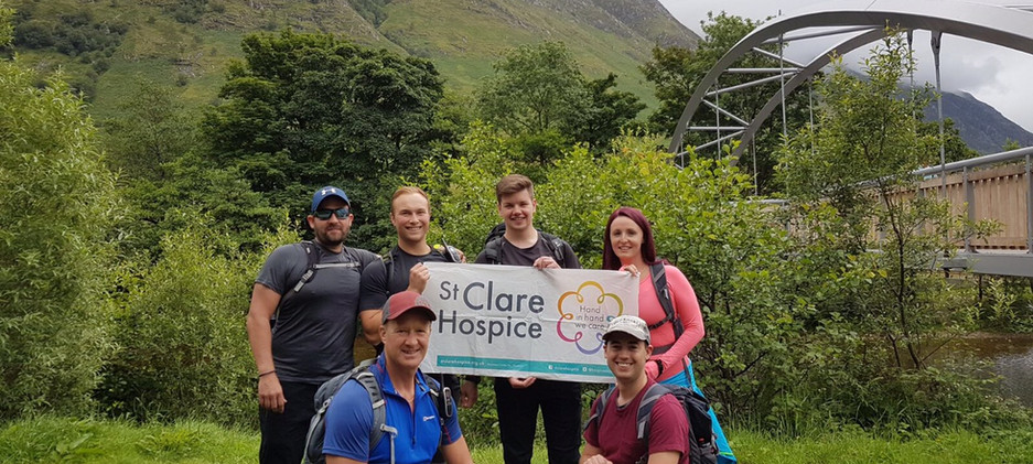 The 3 Peaks Team, in aid of St Claire Hospice   Charity   Local   Harlow   Sawbridgeworth   Gym   Personal Training   Fitness   Exercise   Weight Loss