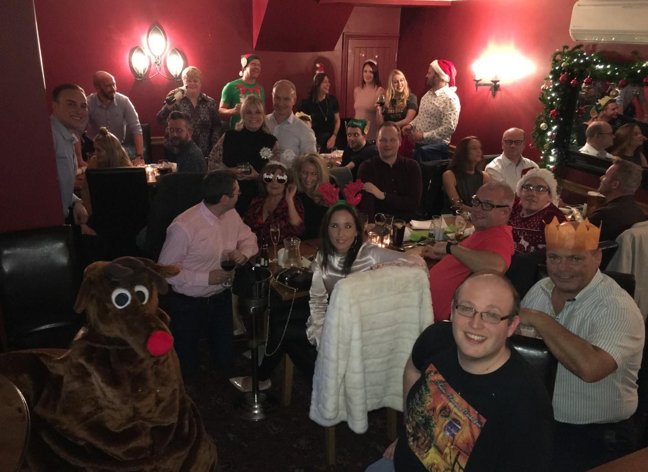 Clients Christmas Party held at The John Barleycorn | Personal Trainer | Training | Gym | Fitness | Lifestyle | Sawbridgeworth | Harlow | Essex | Bishops Stortford