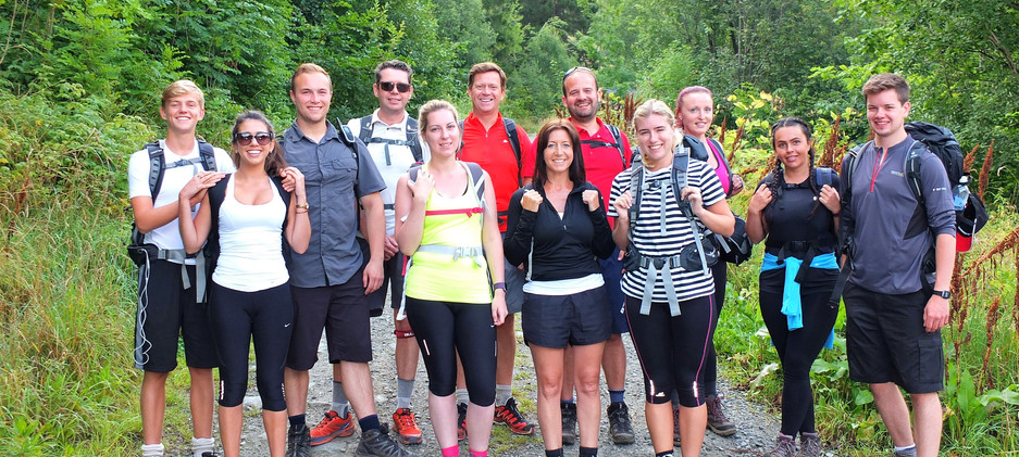 The participants of the Norway Hiking Trip 2016   Gym   Exercise   Sawbridgeworth   Health   Personal Trainer   Harlow   Training