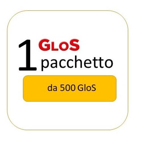 GloS Pacchetto da 500 GloS
