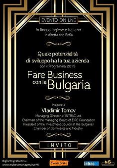 Invito Bulgaria Intrac Markets & Strateg