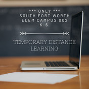 SFW Elementary – Temporary Distance Learning K-6 Starting January 14, 2021