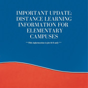 Elementary Distance Learning Information