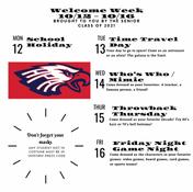 Welcome Week Information