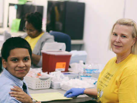 August Back to School Vaccine Events + Spring Teen Project Recap