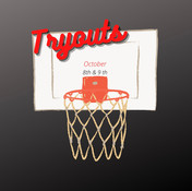 Basketball Tryouts October 8th & 9th