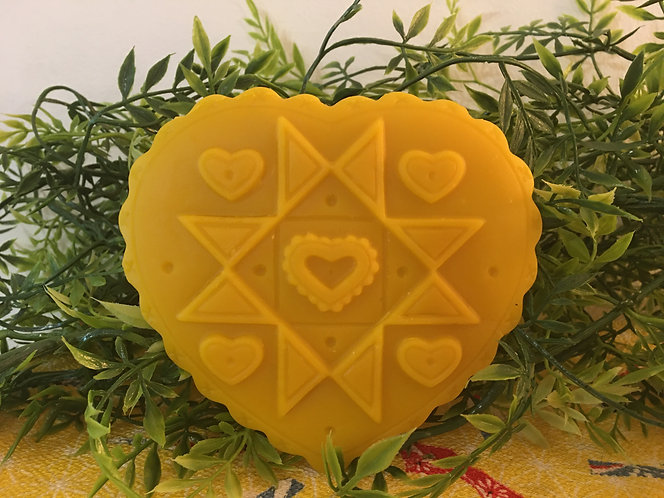 Quilt Design Beeswax Heart