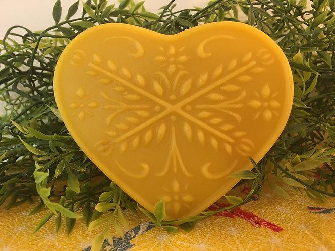 Anniversary Beeswax Heart