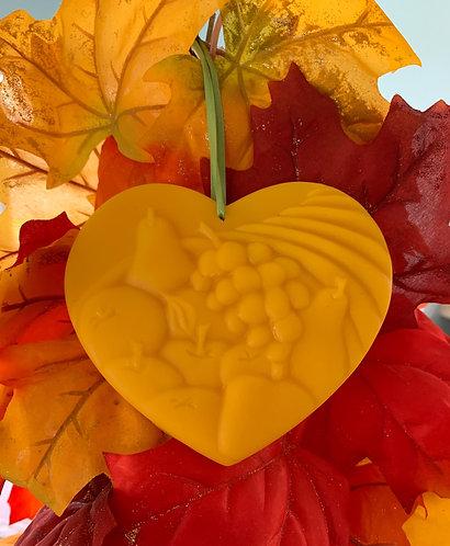 Beeswax Heart of Plenty